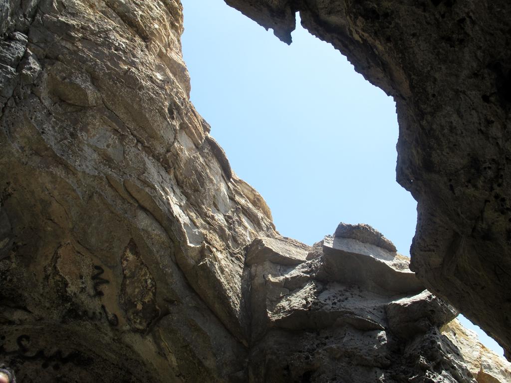 Skylight inside Cleopatra's Cave. By Al Rahalah