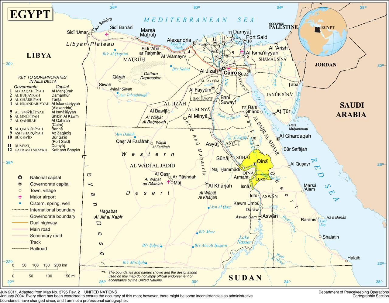 The Nile Valley Upper Egypt