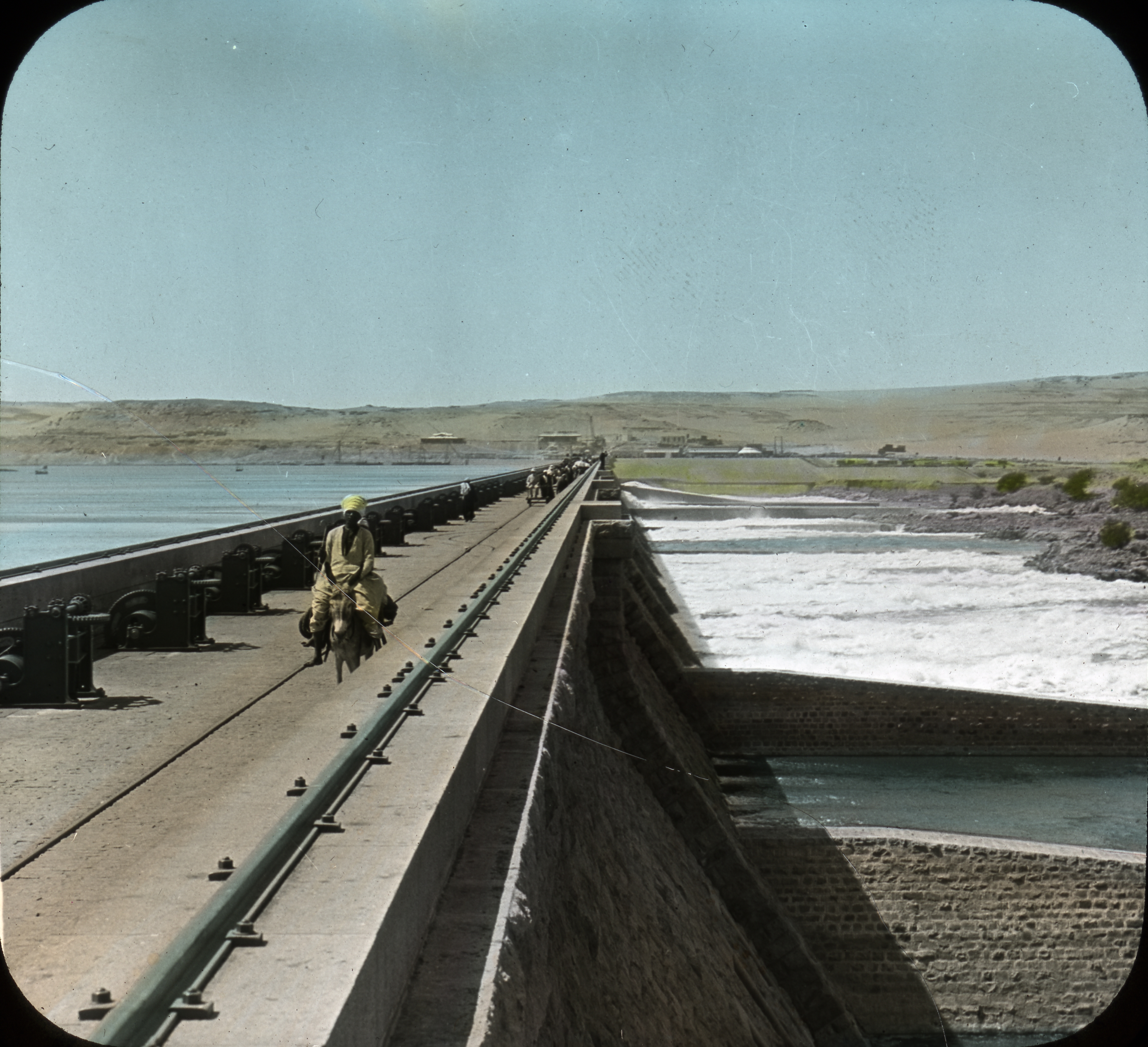 Egypt - Great Nile Dam (This is the Aswan Low Dam, not the High Dam that was built in the late 1950s---Editor)
