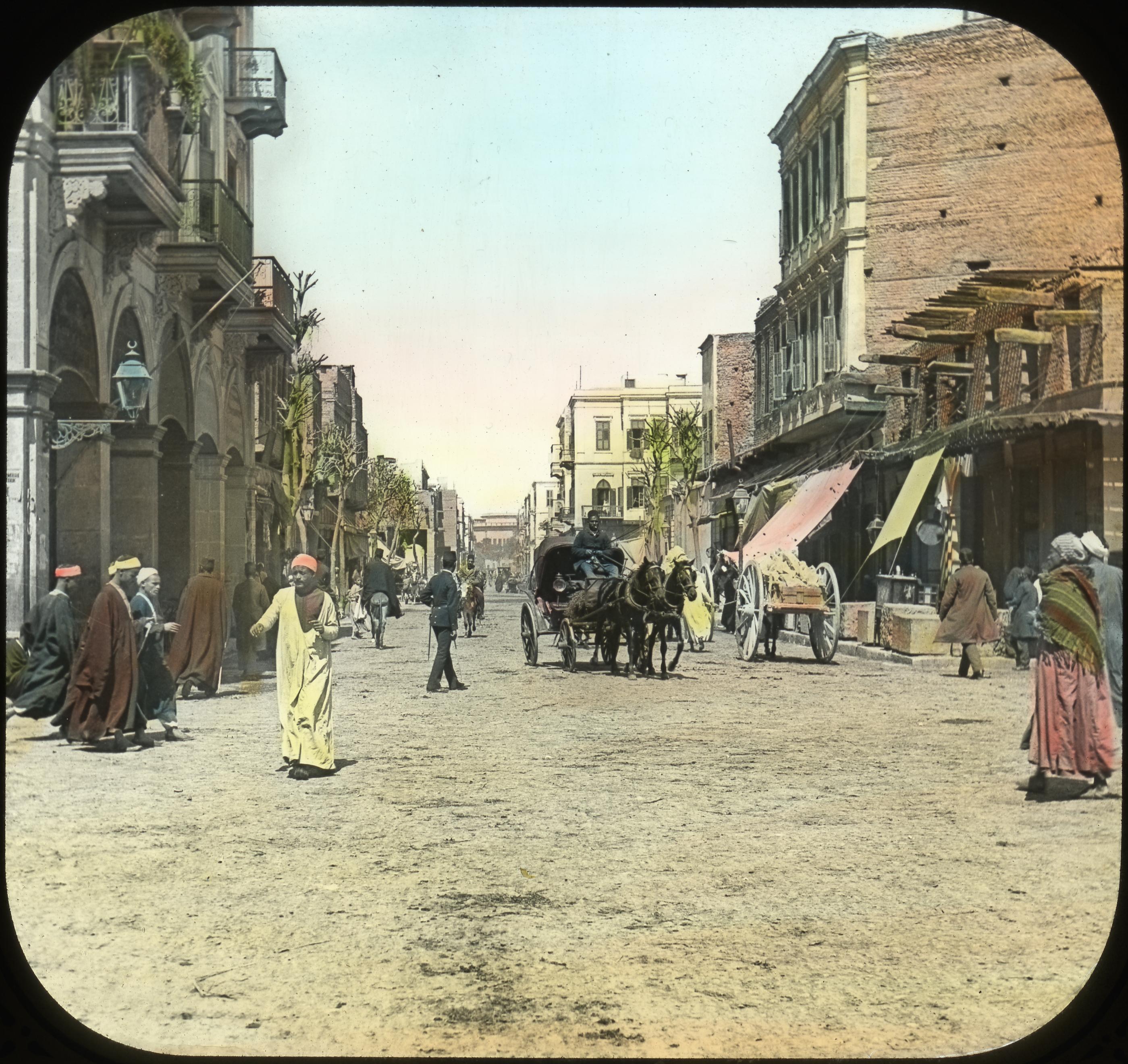 022 - Egypt - Street Scene, Cairo