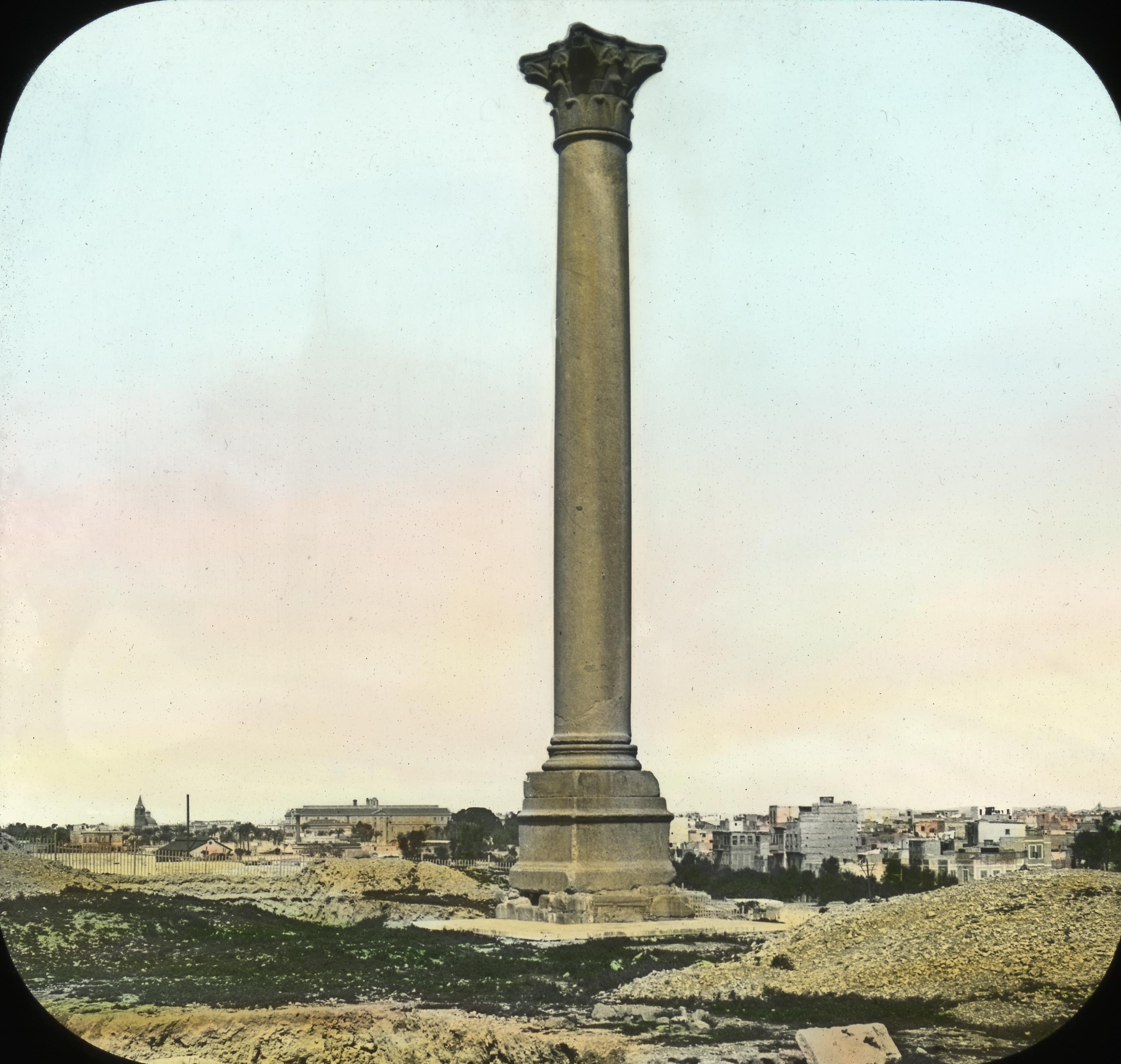 031 - Egypt - Pompey's Pillar, Alexandria.