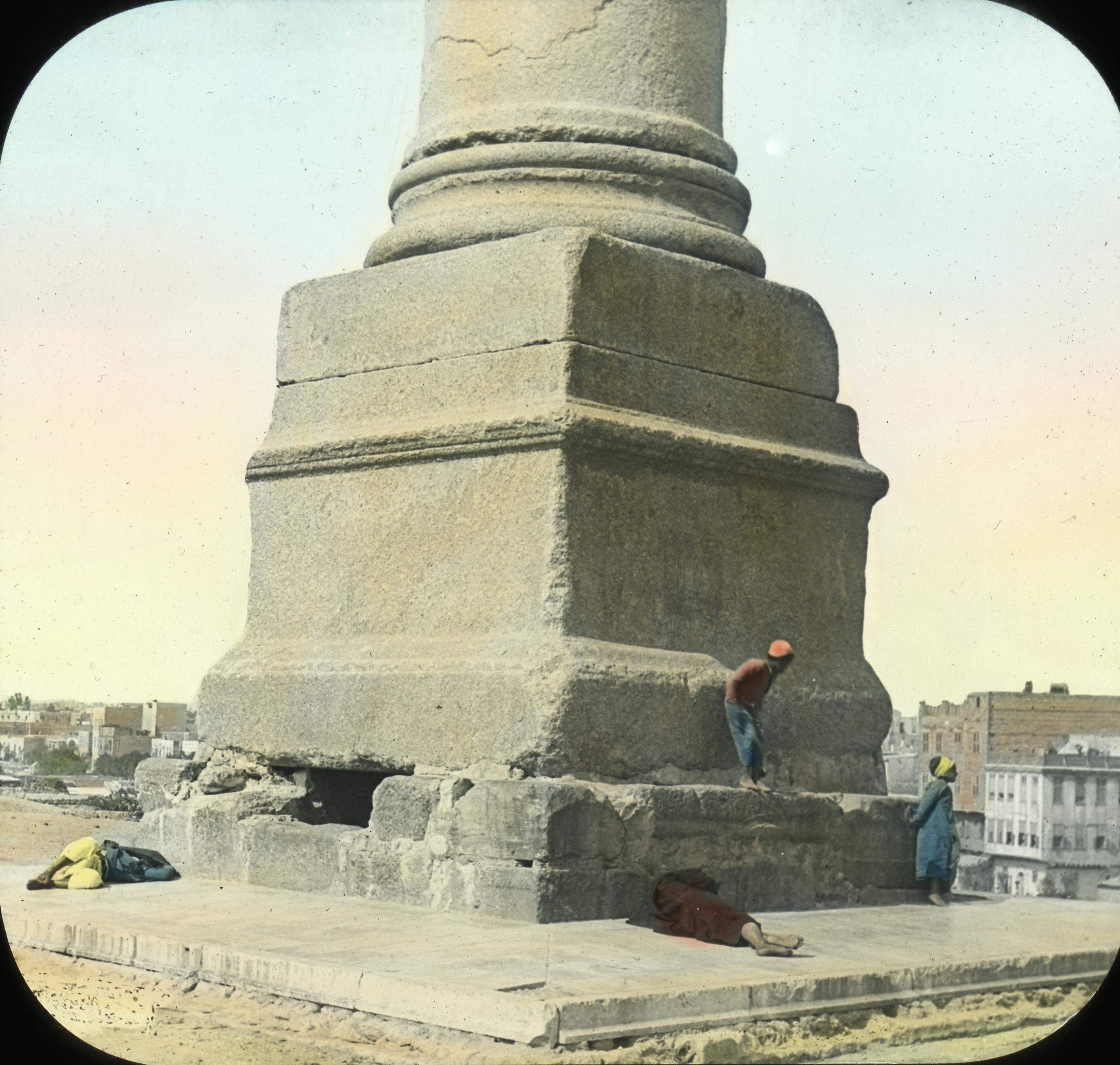 032 - Egypt - Base of Pompey's Pillar, Alexandria