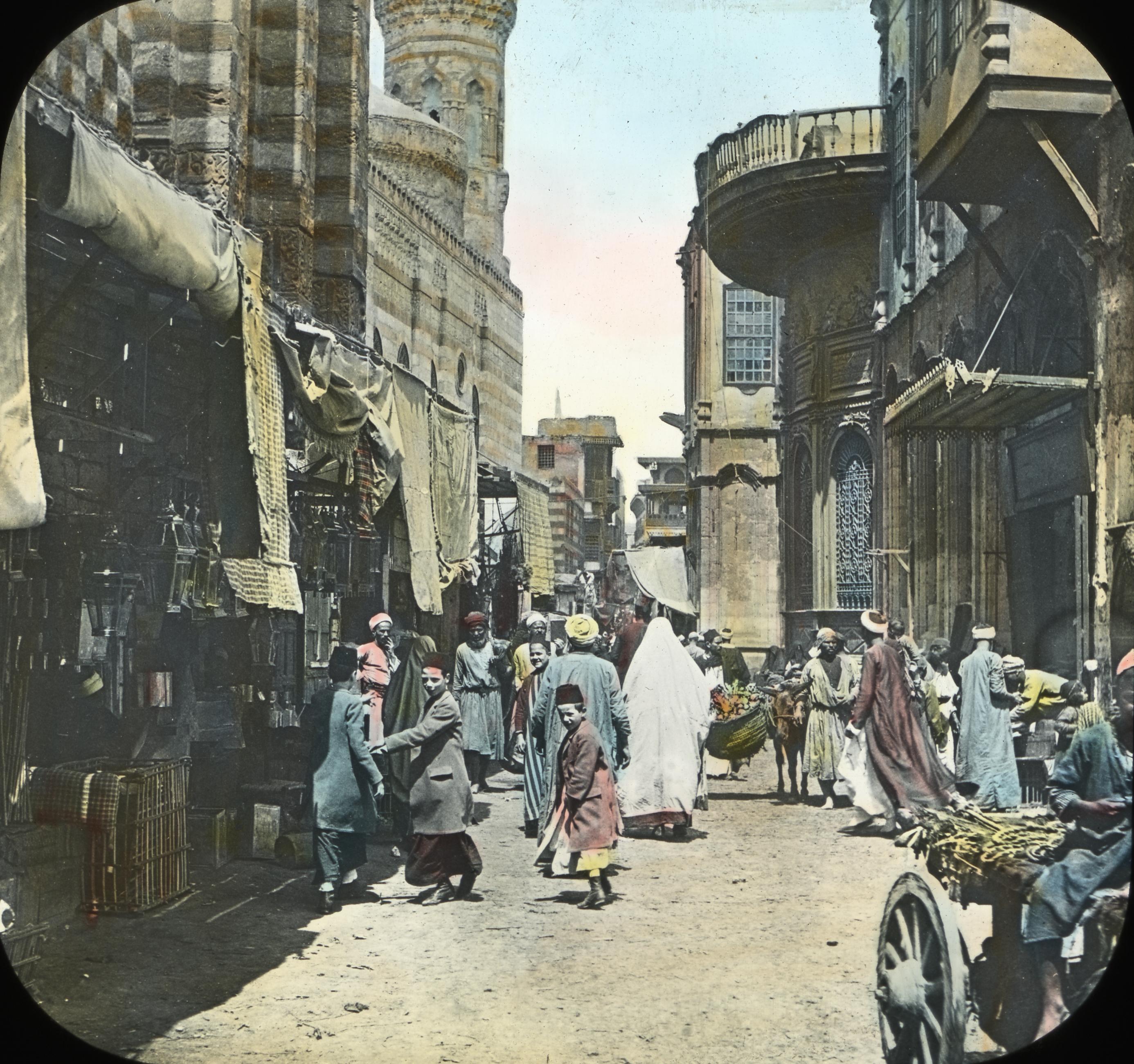 Egypt - Street in Native Quarter, Cairo
