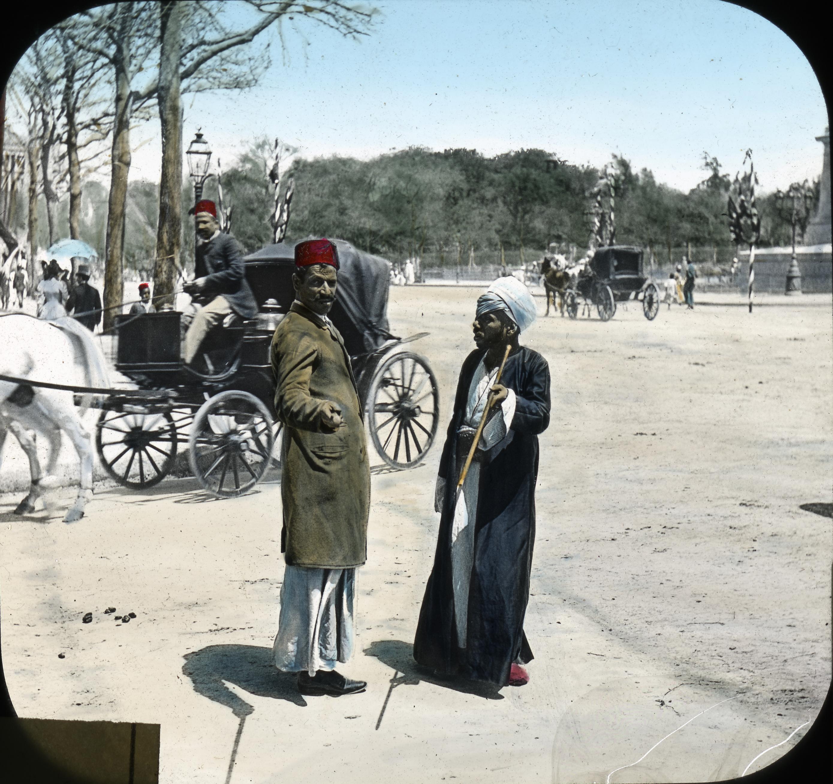 051 - Egypt - Muezzin on the street, Cairo