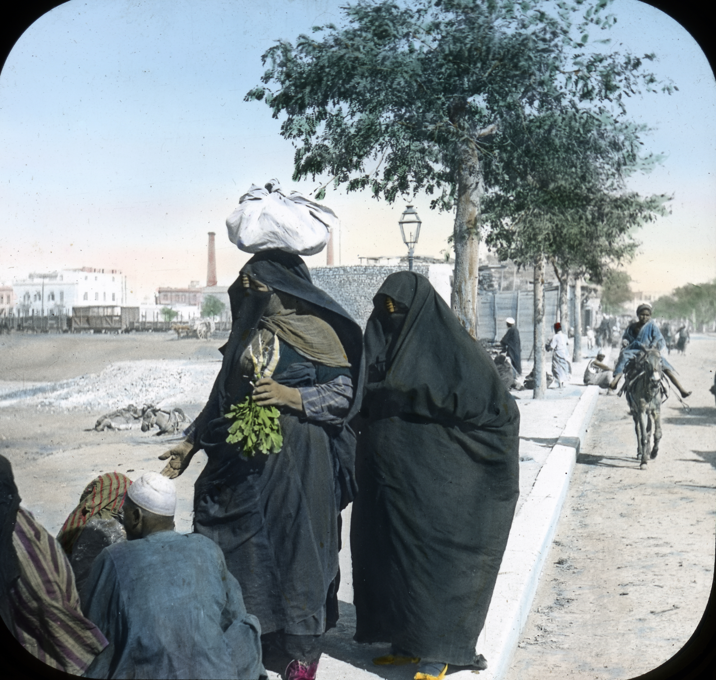 061 - Egypt - Woman, Veiled, Cairo