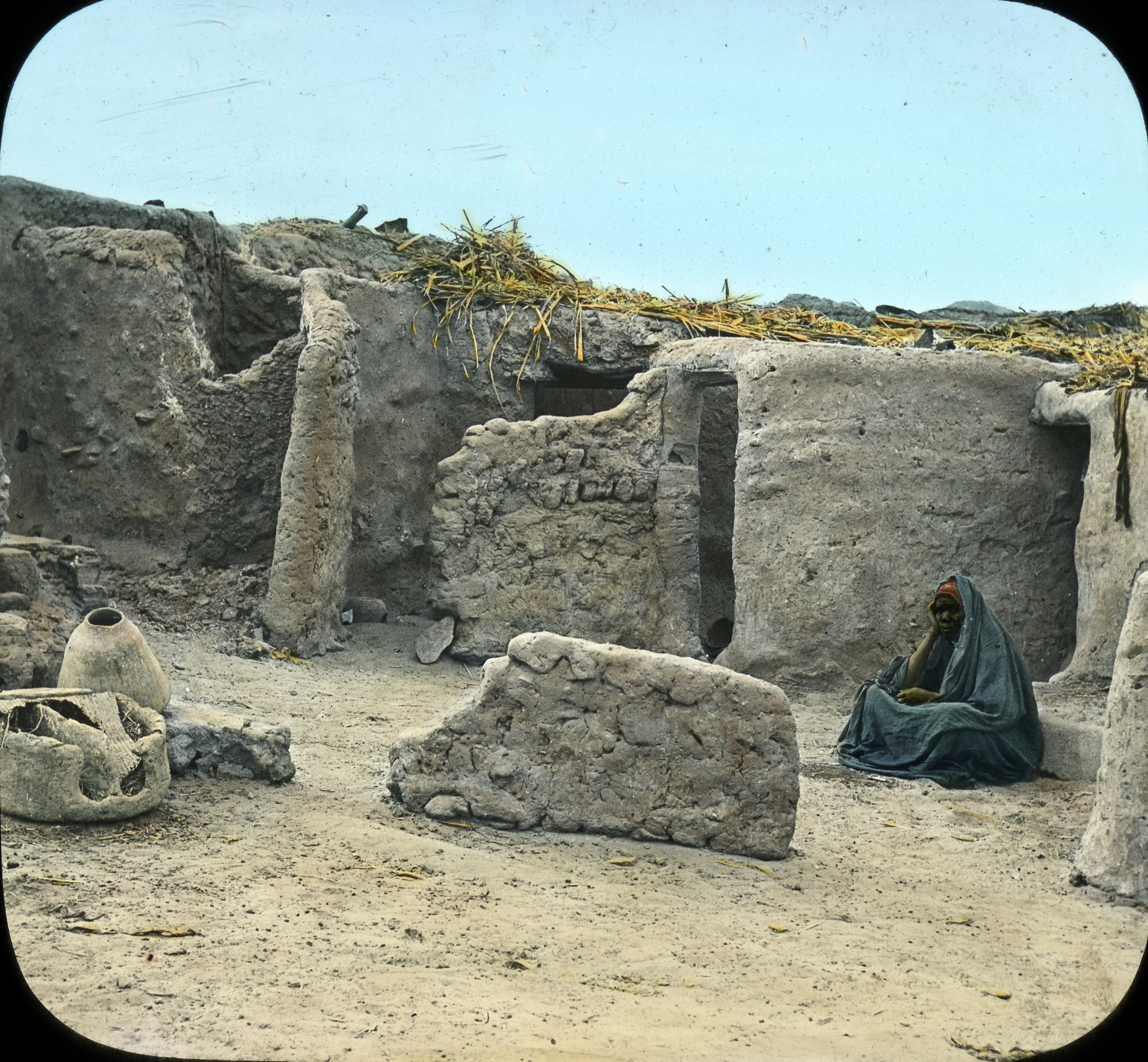 071 - Egypt - Houses of Soudanese Soldiers, Assuan