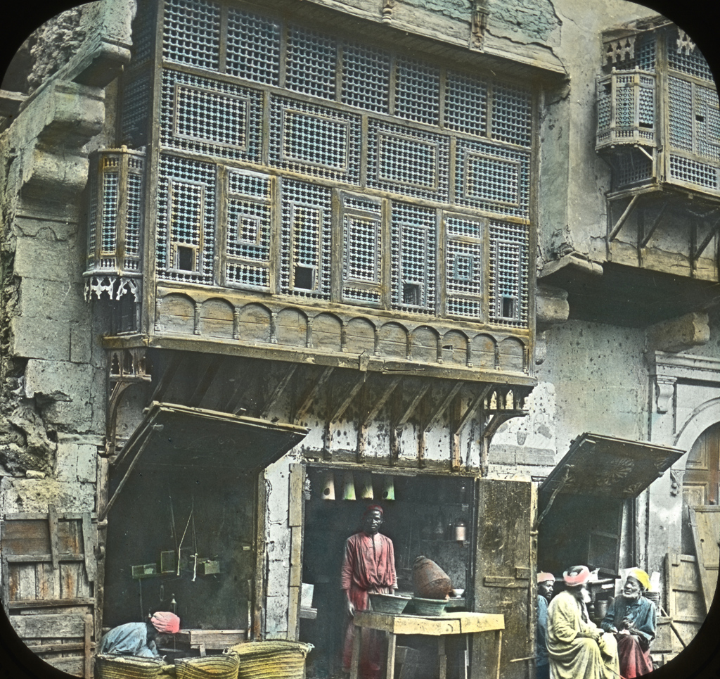 Egypt: Arabic Window and Native Bazaar, Cairo