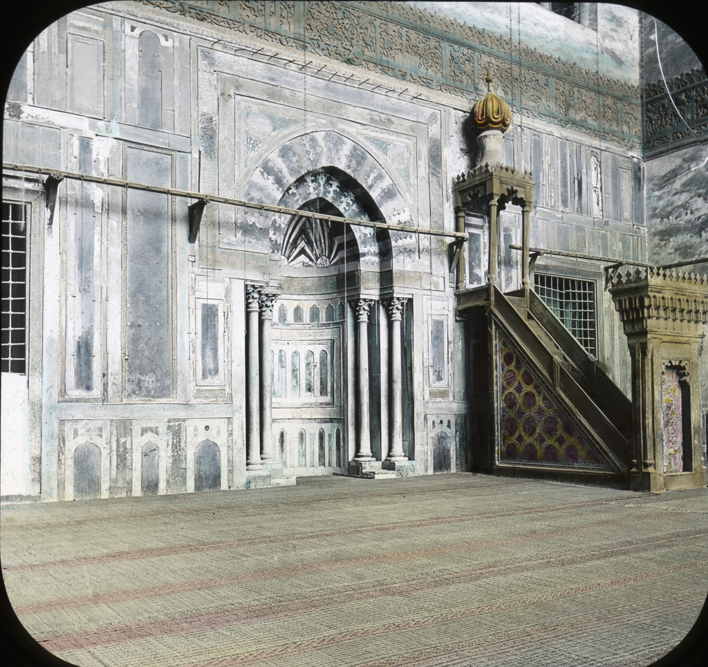 Egypt: Mosque of Sultan Hasan, Pulpit, Cairo