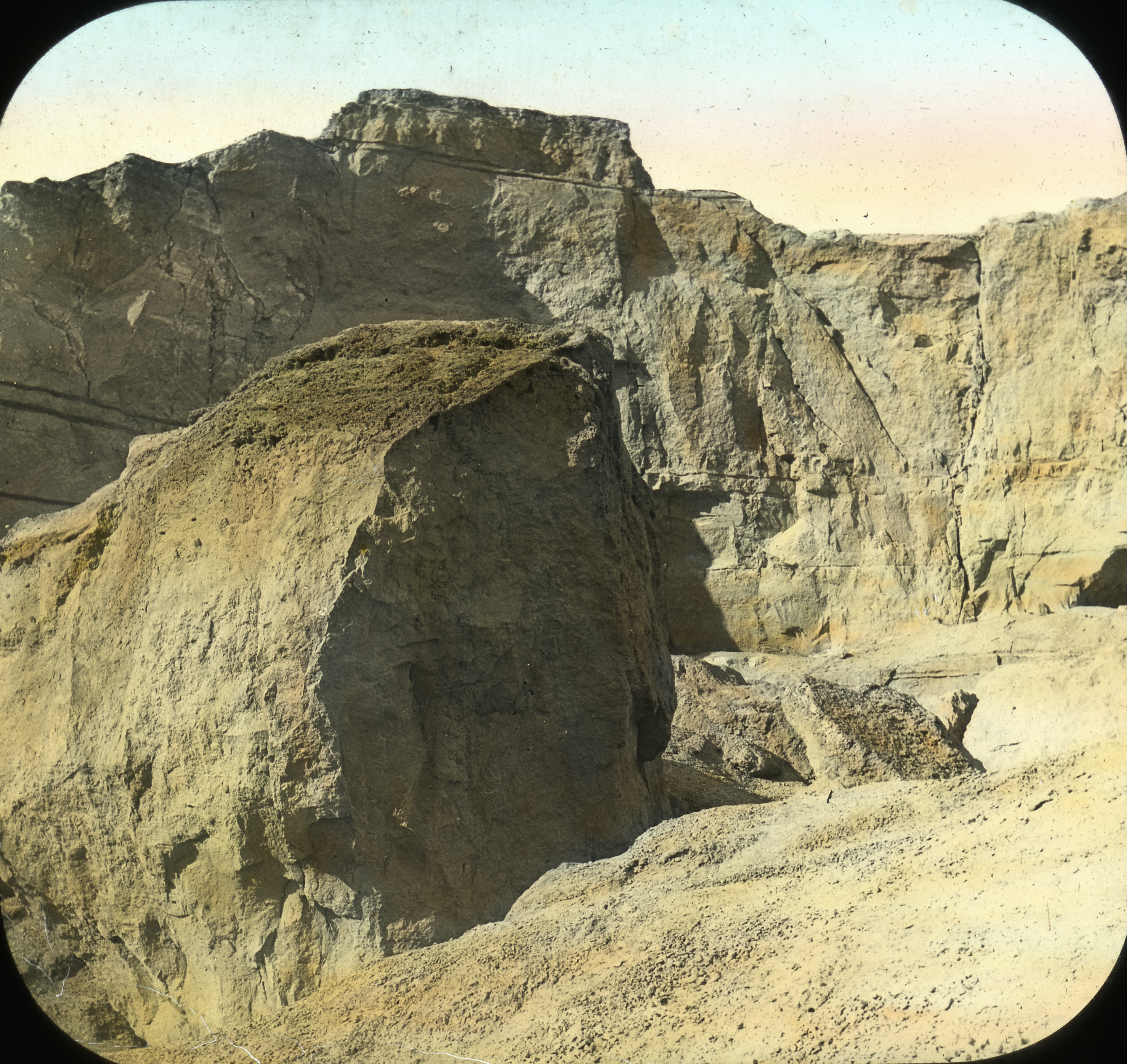 Egypt: Mokattam Hills, A Quarry, Cairo
