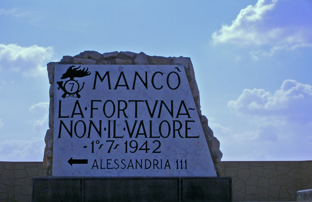 Italian high-water mark